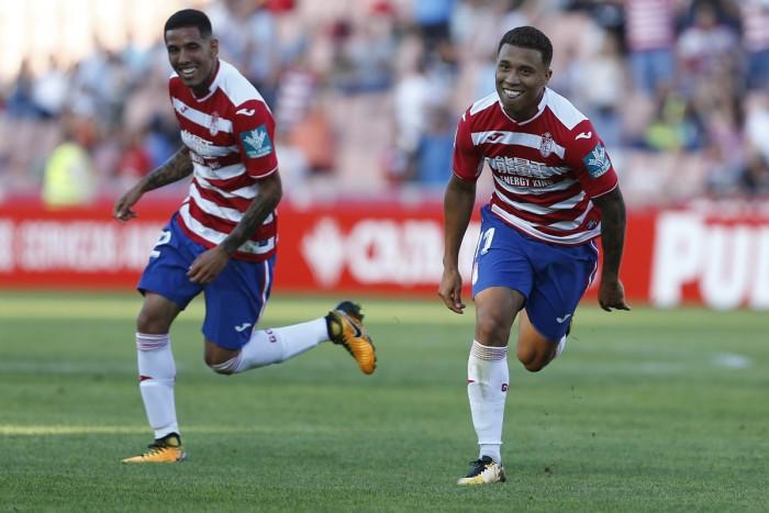 Machís devuelve la sonrisa al Granada CF