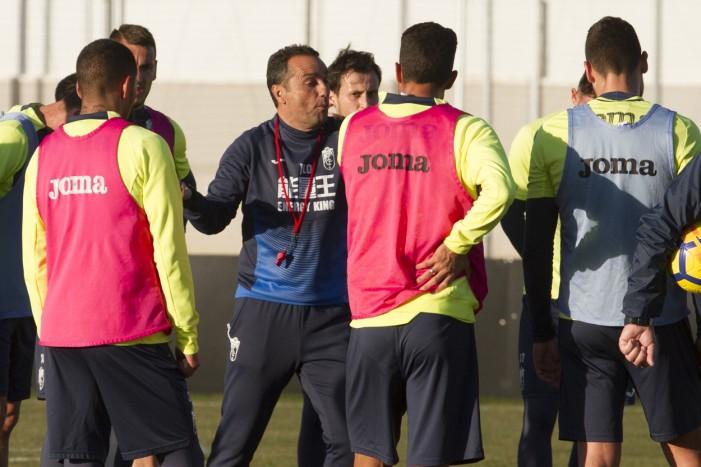 Cuatro entrenamientos para preparar el duelo contra el Zaragoza