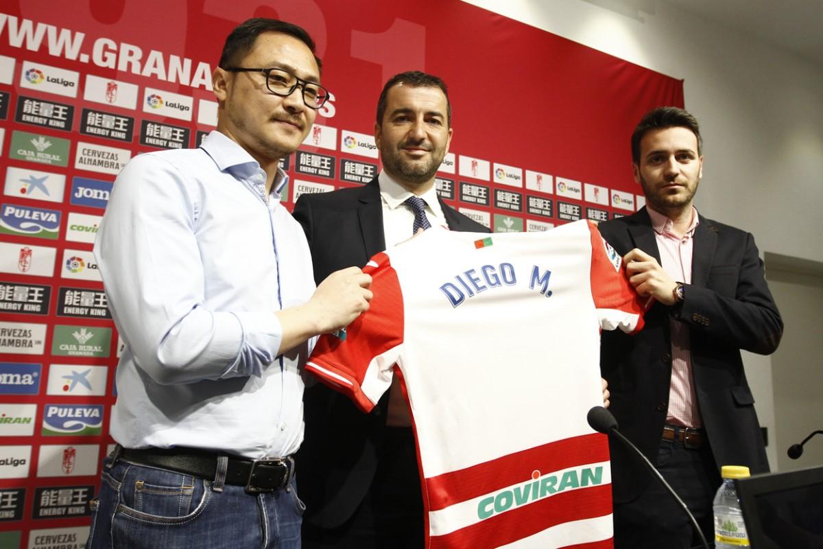 """Diego Martínez: """"Entrenar al Granada CF es un orgullo y una motivación para mí"""""""