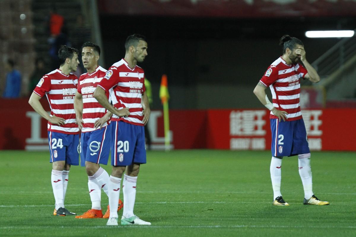 Un Granada CF herido por un Rayo