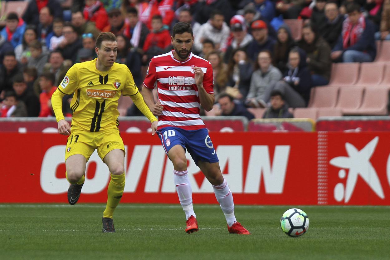 Previa Granada CF - Osasuna: duelo entre revelaciones