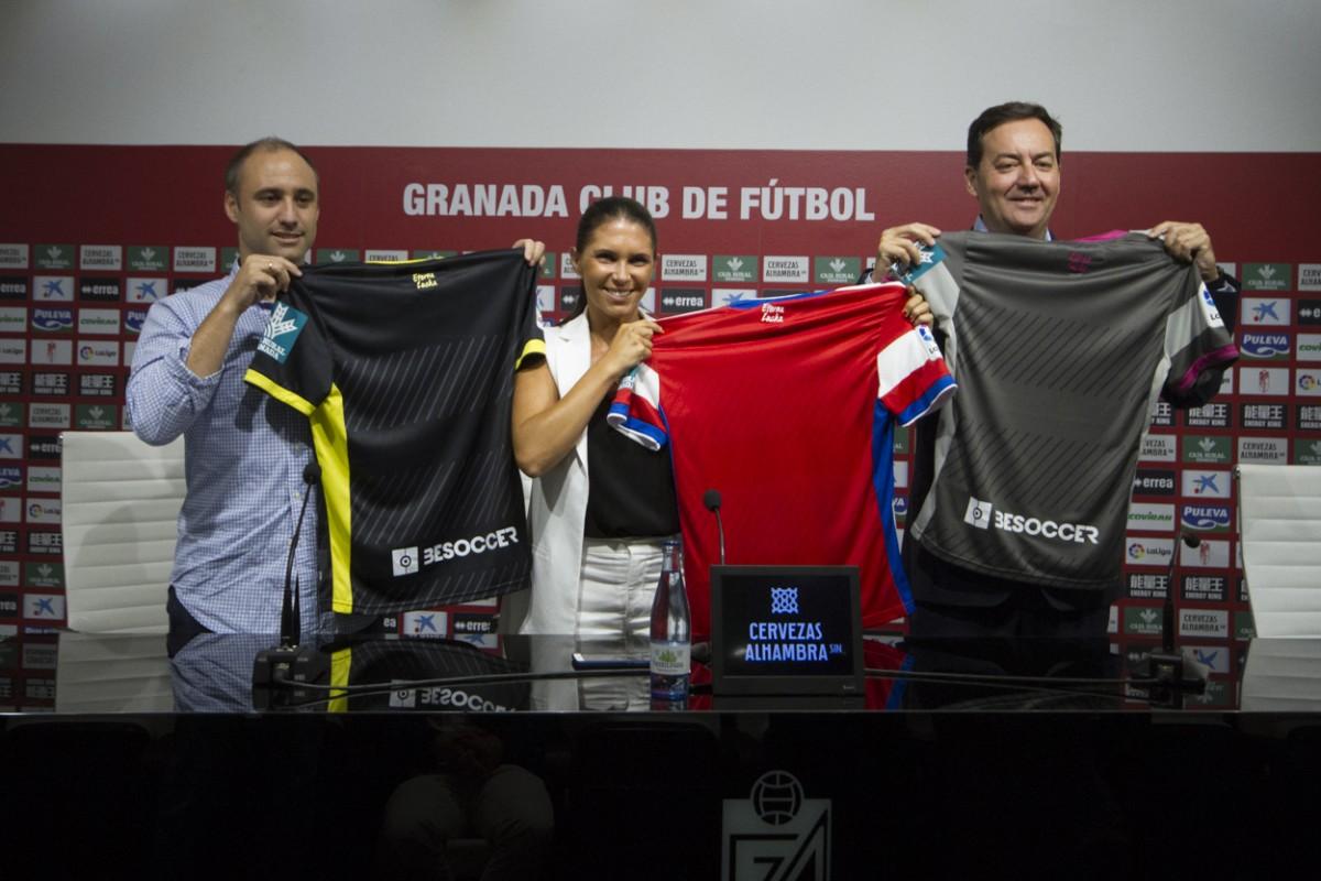 El Granada CF presenta el acuerdo con BeSoccer, nuevo 'partner' tecnológico