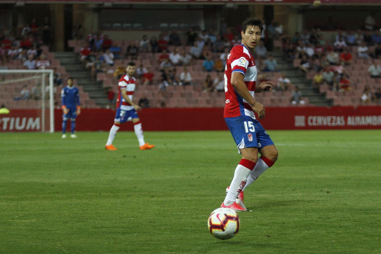 Nico Aguirre se desvincula del Granada CF