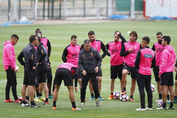 El Granada CF se prepara para recibir a Osasuna en Copa y al Sevilla en Liga