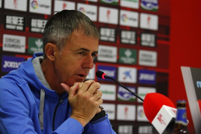 """Alcaraz: """"Tenemos que intentar que los partidos de fuera o casa sean más similares"""""""