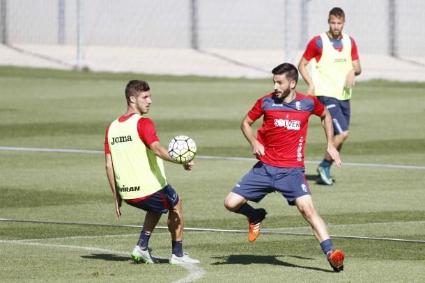 El Granada CF se prepara para medirse al Leganés en Copa y al Atleti en Liga