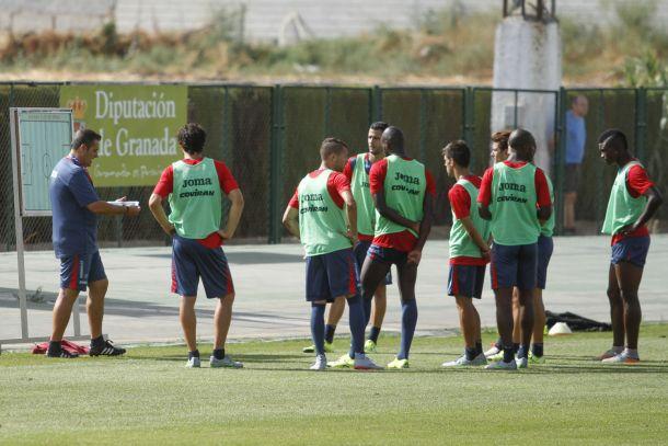 El Granada realiza cinco entrenamientos en la semana de parón en Liga