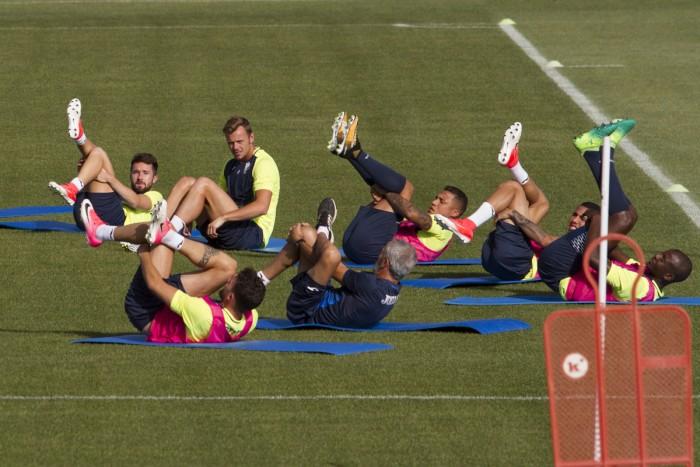 Tres entrenamientos en Granada antes de poner rumbo a Holanda