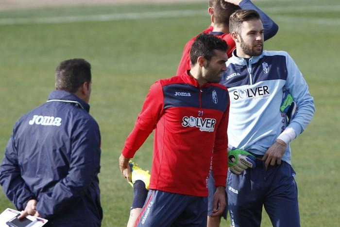 El Granada CF prepara con cinco entrenamientos su visita a Anoeta
