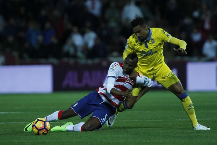 Buenos antecedentes del Granada CF en las visitas de Las Palmas