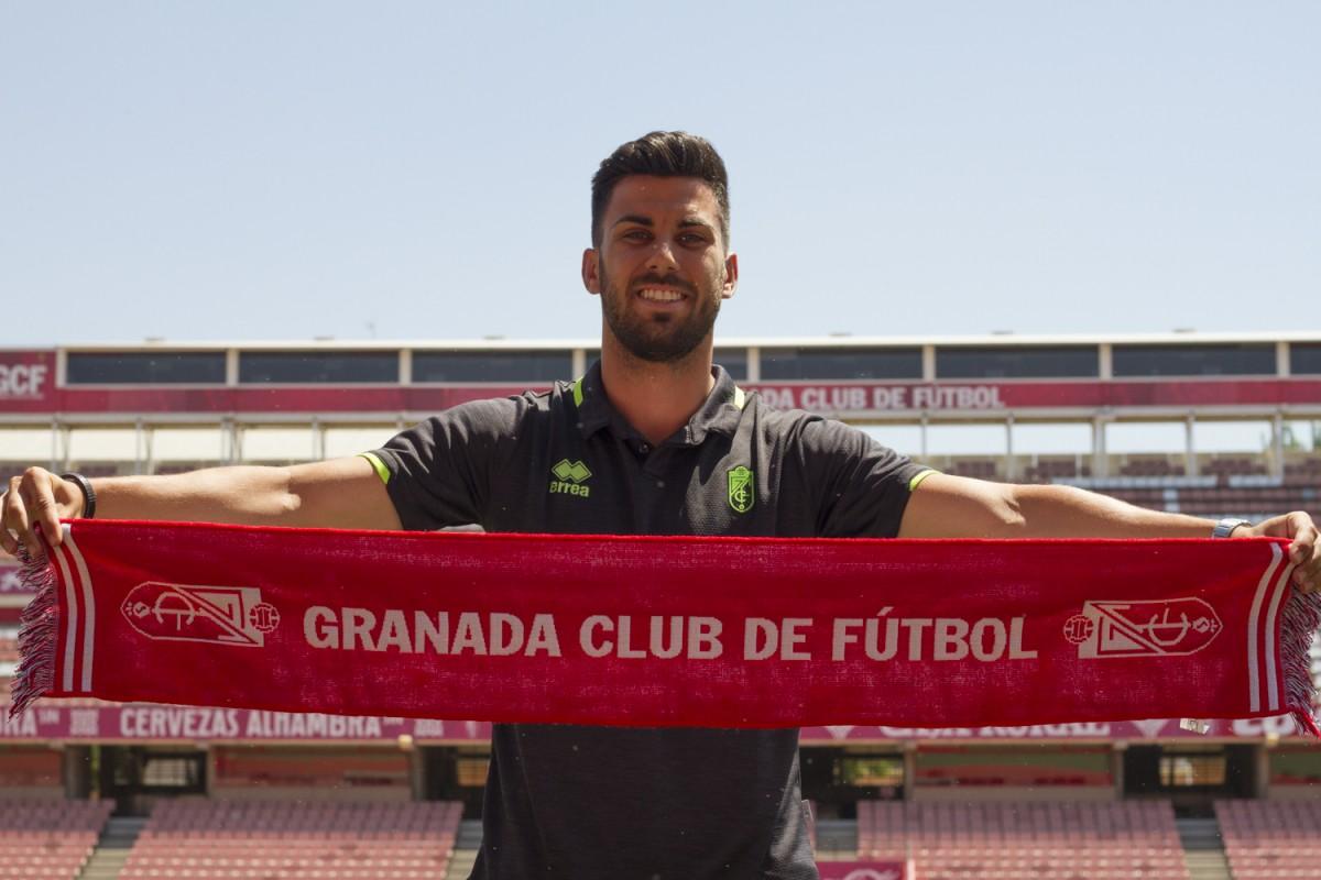 """Fede Vico: """"Mis fuerzas y ganas están en el Granada CF"""""""