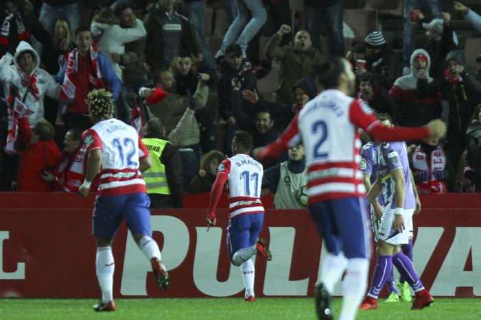 El Granada CF sufre y gana al ritmo de Machís