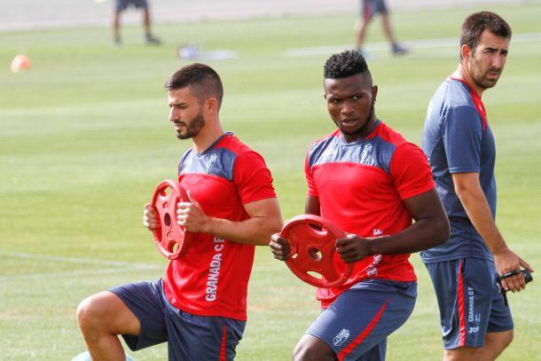 Javi Márquez, Musavu-King y Buonanotte, ausencias en el entrenamiento