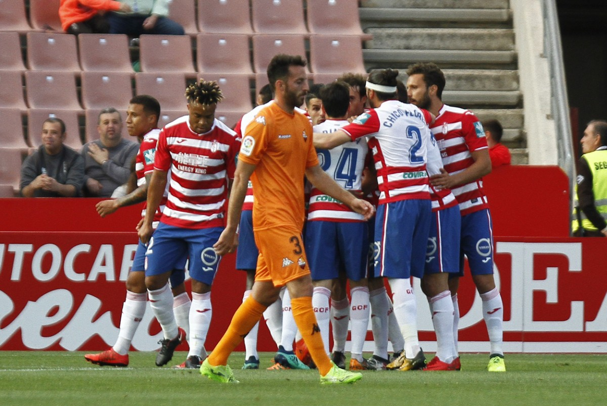 Triunfo desangelado del Granada CF sobre el Reus