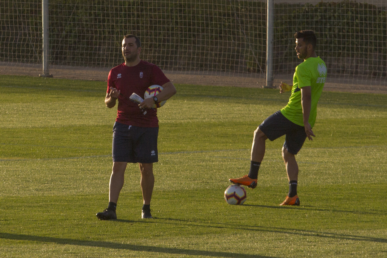 Seis entrenamientos para el Granada CF en el inicio de pretemporada