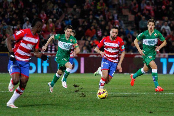 Granada CF - Elche CF: puntuaciones del Granada CF, jornada 21