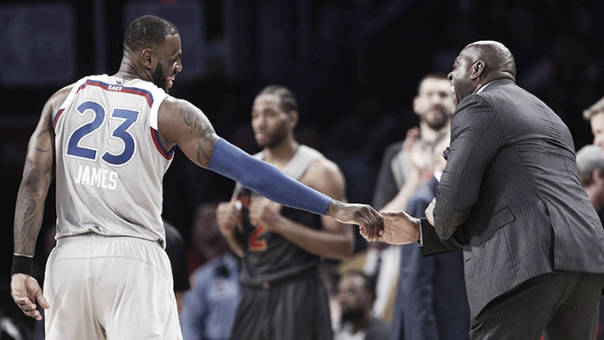 LeBron influyó en la firma de agentes libres de los Lakers