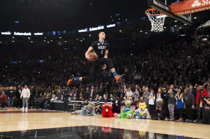 NBA - Ora è ufficiale, Zach Lavine non partecipà allo Slam Dunk Contest 2017