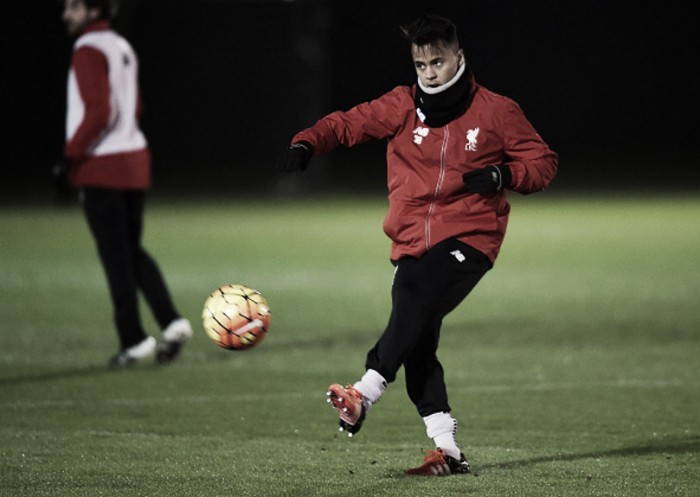 Young Liverpool midfielderAllanagrees loan switch toSint-Truiden for the rest of the season