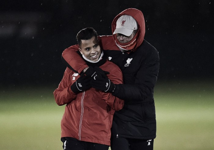 Liverpool youngster Allan poised to complete loan switch to Belgium