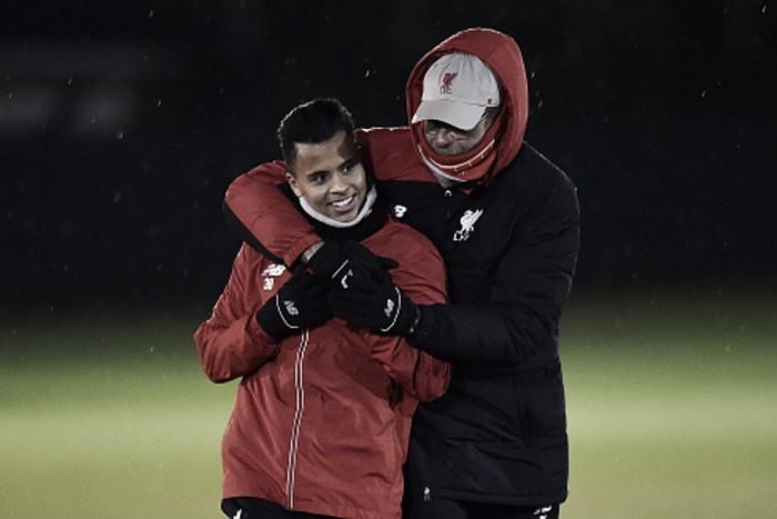 """Outstanding talent"" Allan will be a Liverpool regular in the future, says Jürgen Klopp"