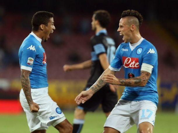 """Napoli, Hamsik: """"Non ci aspettavamo un risultato così"""". Allan: """"Un sogno il San Paolo"""""""
