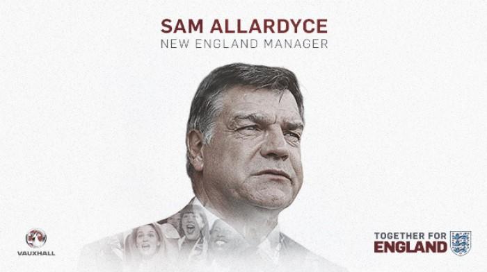 FA confirma especulações e anuncia Sam Allardyce como novo treinador