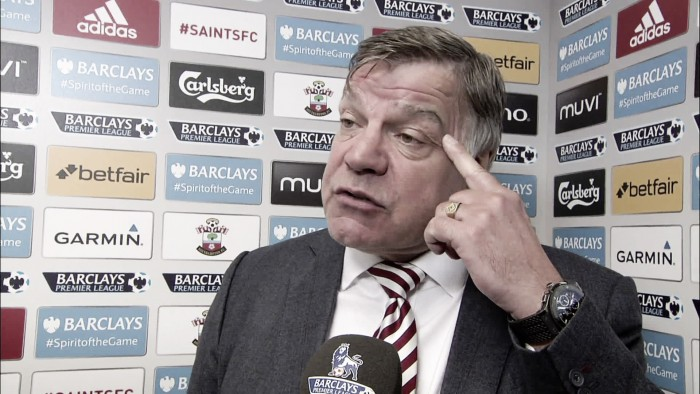 Sam Allardyce blasts side over failure to see out game