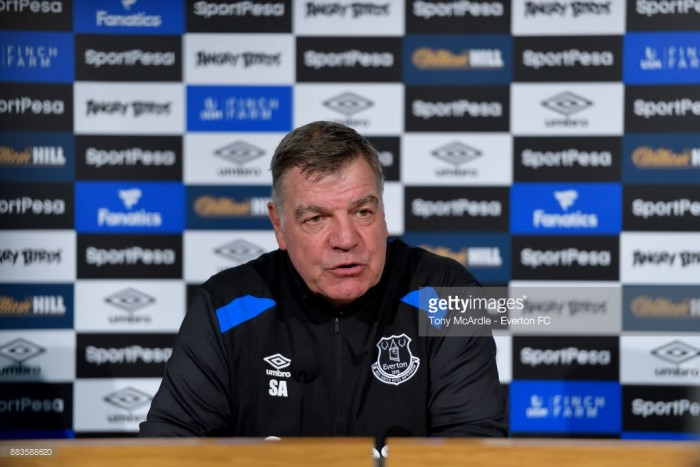 Sam Allardyce: It was easy to quit retirement for Everton, it's a huge club