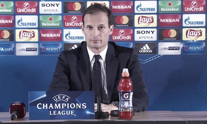 """Juve, Allegri e la calma: """"Dobbiamo avere rispetto del Monaco, giocando due partite giuste"""""""