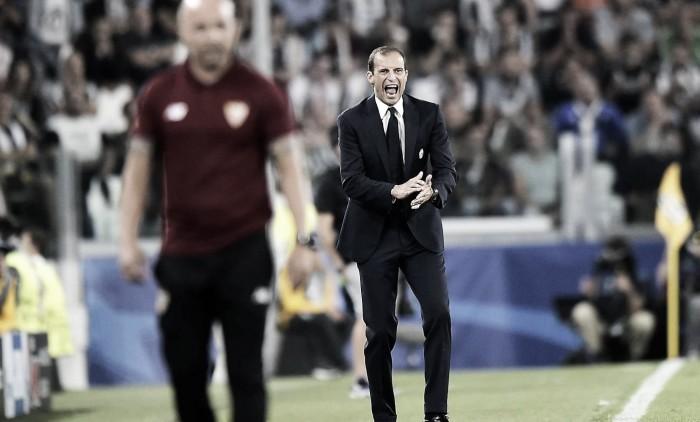 """Irritado, Allegri dispara: """"É uma loucura dizer que a Juventus é favorita a ganhar a Champions"""""""