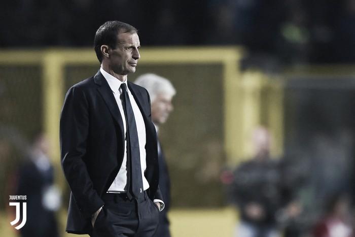 Juve, Allegri e Chiellini commentano il punto di Bergamo