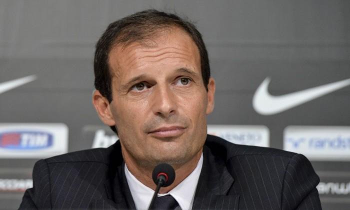 Juventus, Allegri e Hernanes dopo la vittoria col Carpi