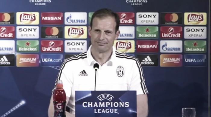 """Juve, Allegri e l'attenzione: """"Il Monaco non ha niente da perdere, servirà una partita tosta"""""""