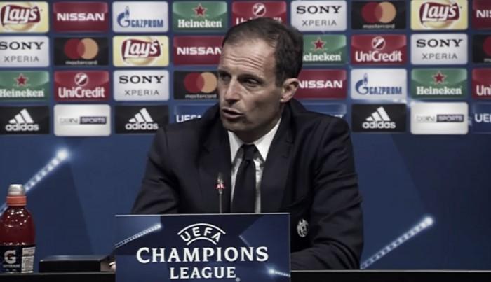 Juventus, no al catenaccio. Allegri: