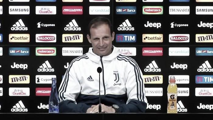 """Allegri e la Juve all'esame Fiorentina: """"Migliorare la gestione dei momenti. Bernardeschi? Devo decidere"""""""