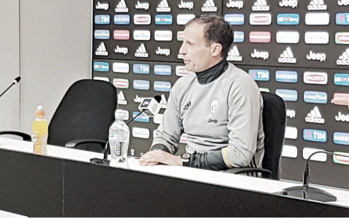"""Juve, Allegri verso il derby: """"Per noi vale lo Scudetto. Il turnover non pregiudica la prestazione"""""""