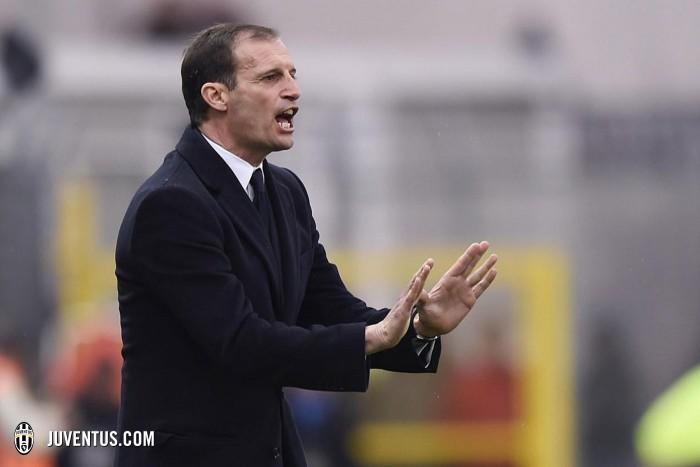 """Allegri: """"El partido contra el Nápoles será bonito, pero no decisivo"""""""