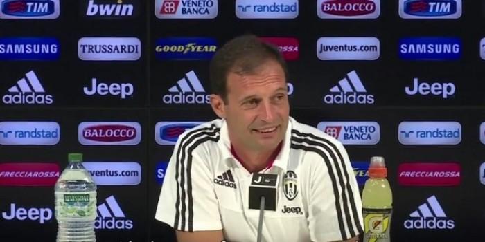 """Juve, Allegri: """"Domani partita intensa, vincere per non dar respiro al Napoli"""""""