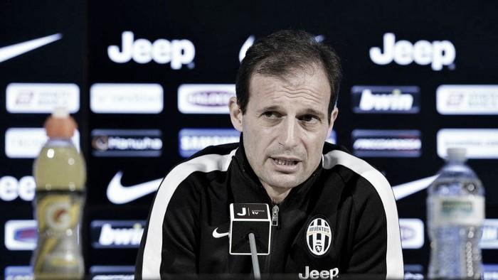 """Juventus - Allegri: """"Partita diversa da domenica. Giocheremo per segnare"""""""