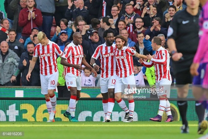 Stoke City's Joe Allen nominated for Premier League Player of the Month for October