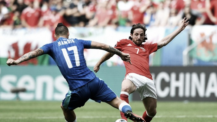 Joe Allen hails complete team performance as Wales win opening game