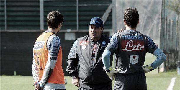 Napoli, prosegue la preparazione in vista della Juve. Zapata e Mesto non convcati