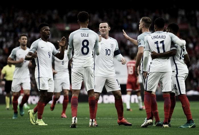 Sob olhares de David Beckham, Inglaterra faz dever de casa e bate Malta