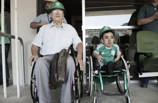 Allianz Parque terá 1400 lugares destinados à deficientes físicos