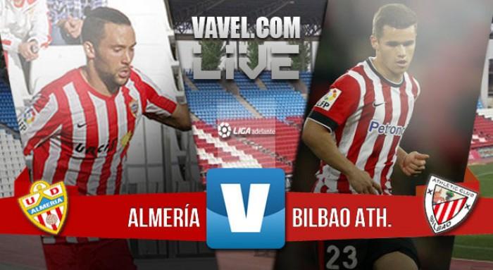 El Almería se levanta una, dos y hasta tres veces si hace falta