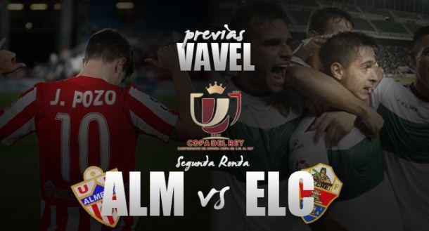 Almeria - Elche: duelo de Primera en Copa