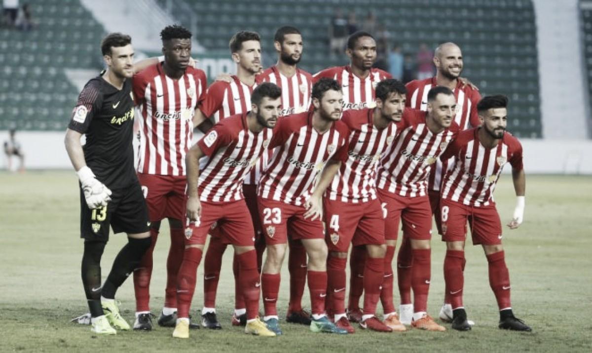 El Almería intentará seguir con su buena racha frente a un Real Zaragoza necesitado