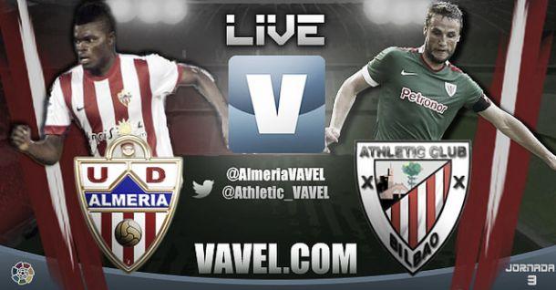 Resultado partido Almería vs Athletic de Bilbao en vivo y en directo online