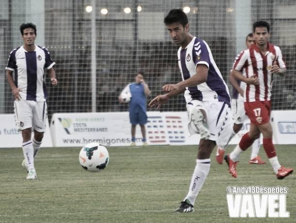 Fotogalería. Almería - Real Valladolid, en imágenes